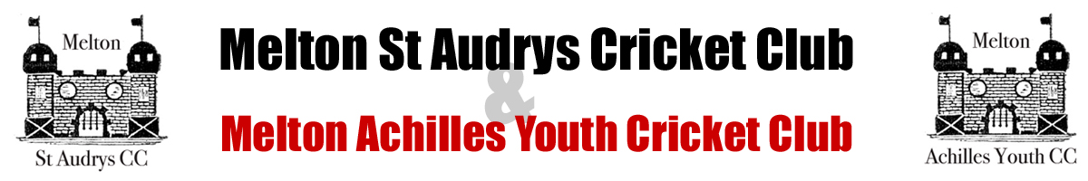 Melton St Audrys Cricket Club | Melton Achilles Youth Cricket Club | Suffolk